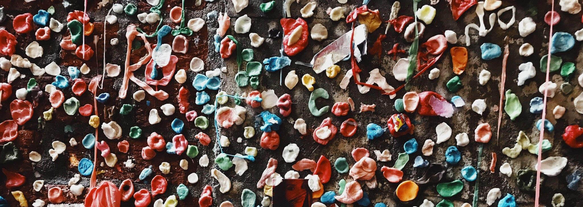 Chewing Gum Is Plastic