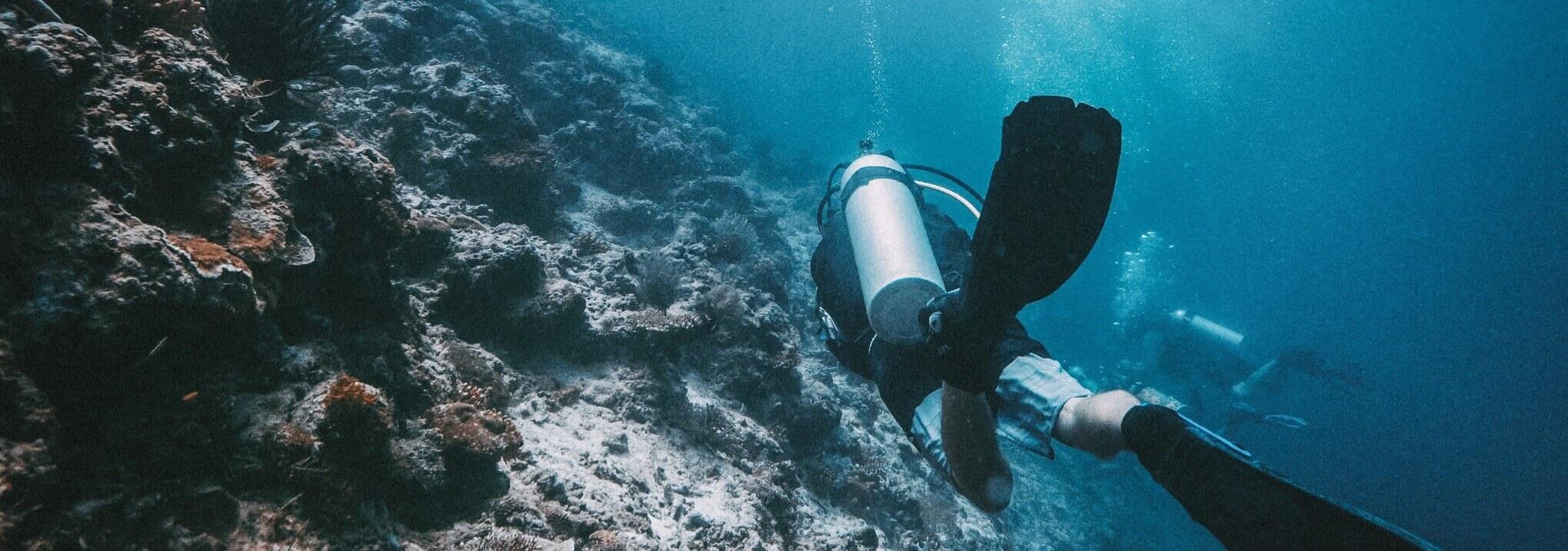 Scuba Dive Ocean Conservation