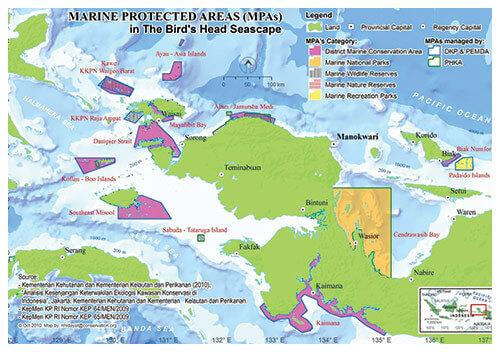 Marine Protected Area Birds Head Raja Ampat