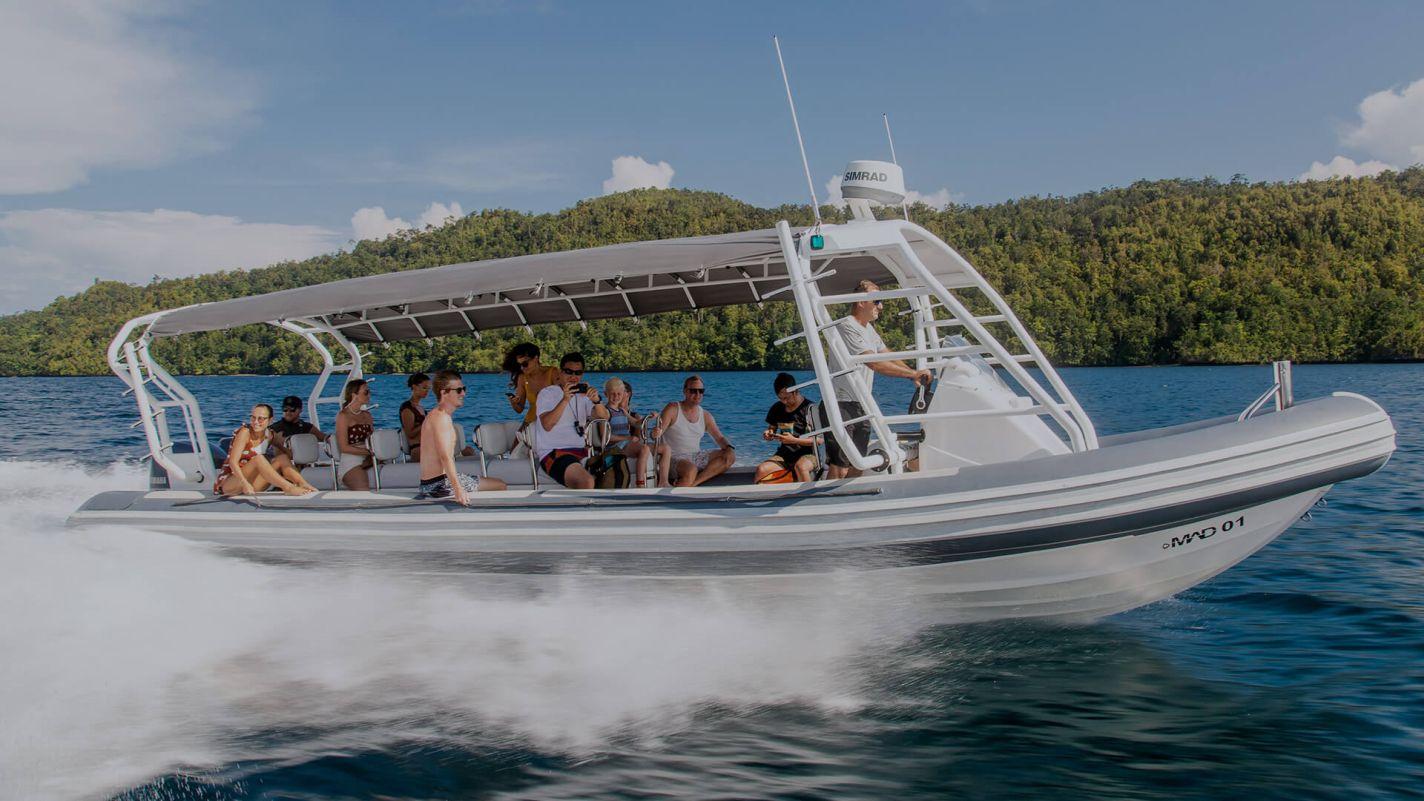 Meridian Adventures Dive Boats