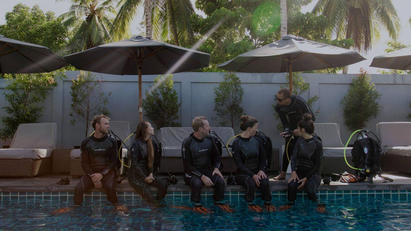 Meridian Adventures Dive Resort Book PADI Courses