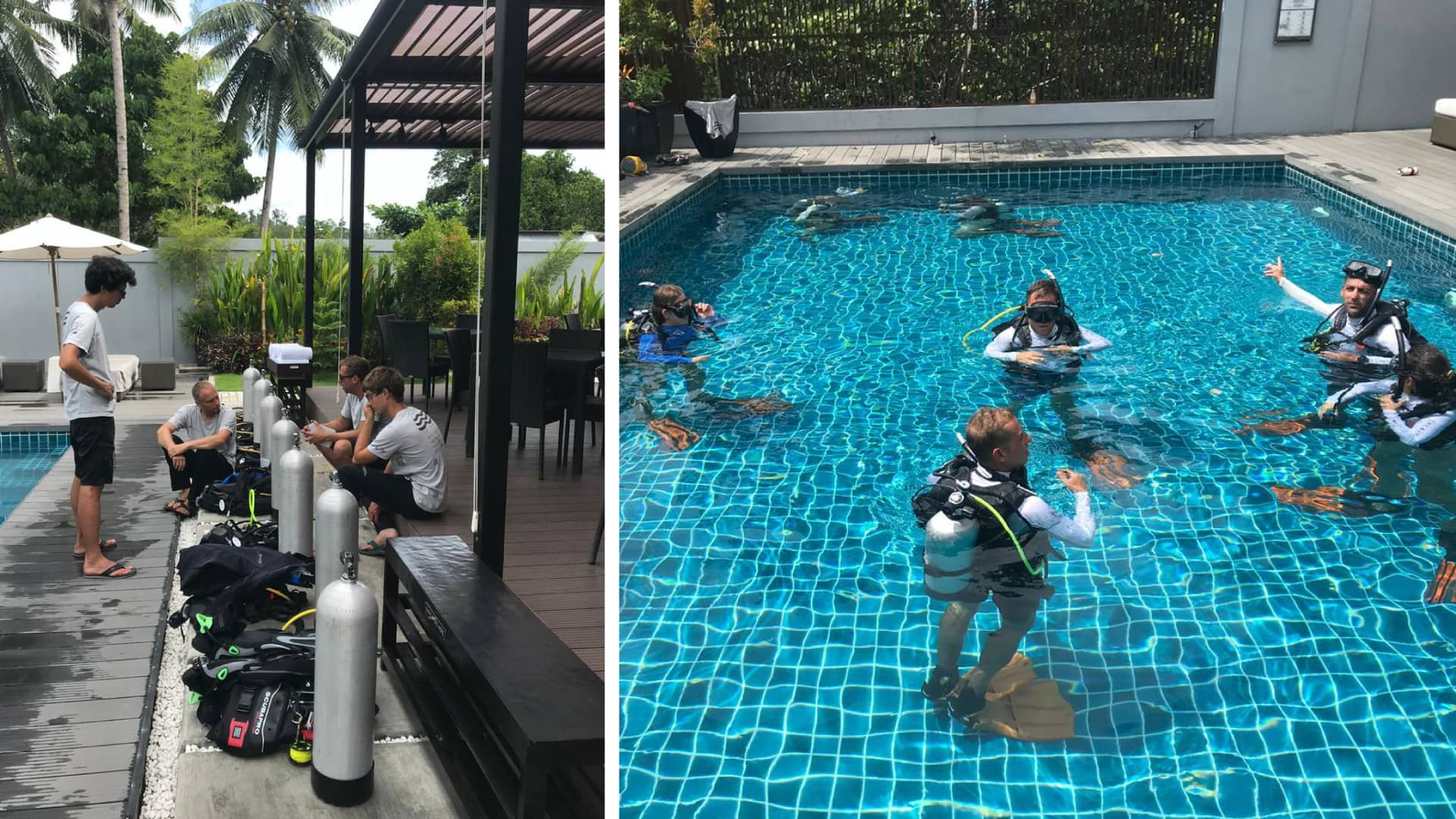 Scuba Dive Training Raja Ampat