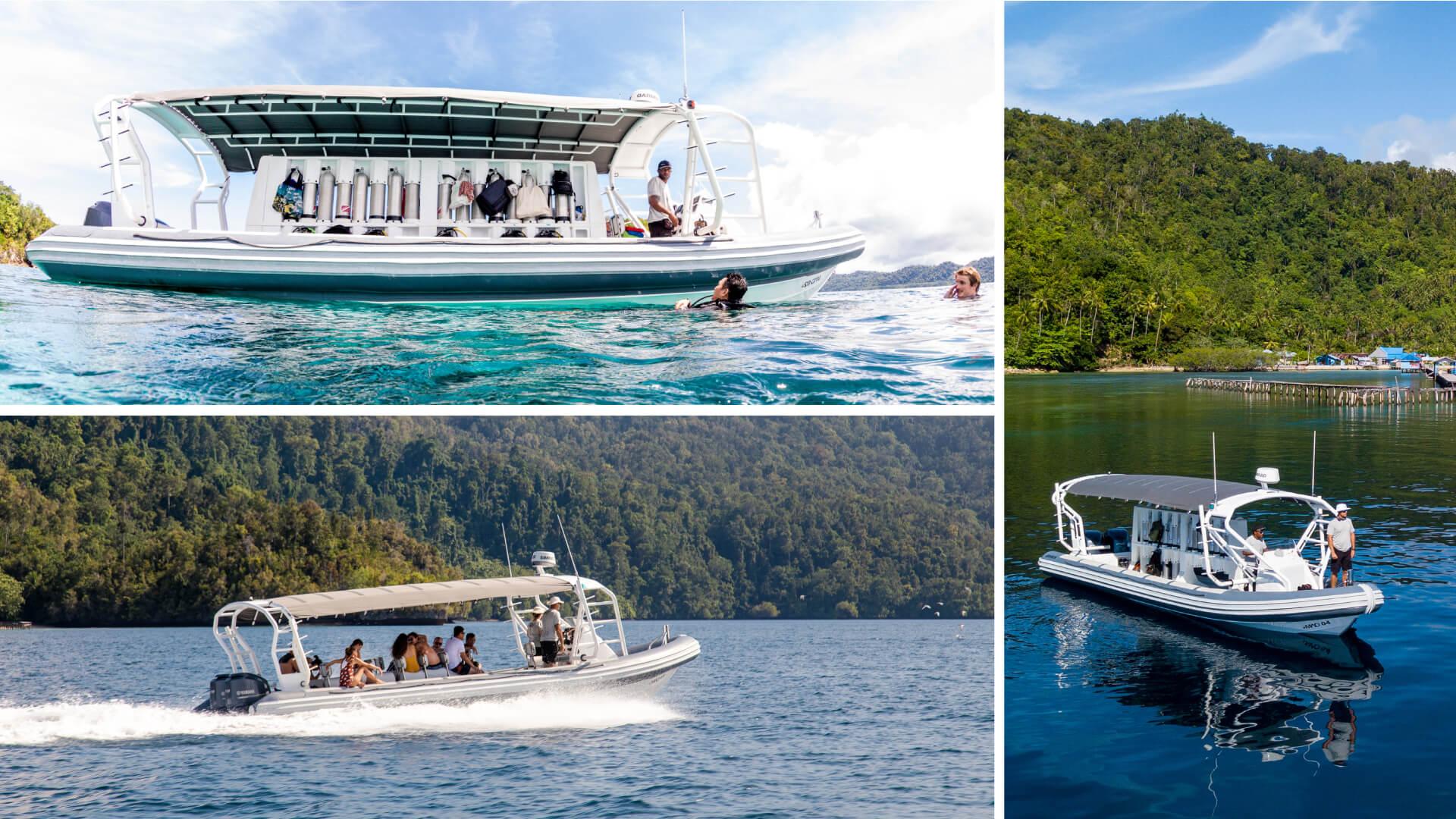 Eco Focused Dive Boats in Raja Ampat
