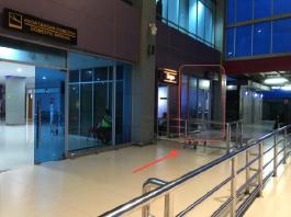 ATM at Sorong Airport