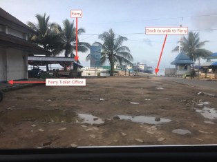 Sorong Ferry to Waisai