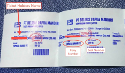 Waisai Ferry Ticket
