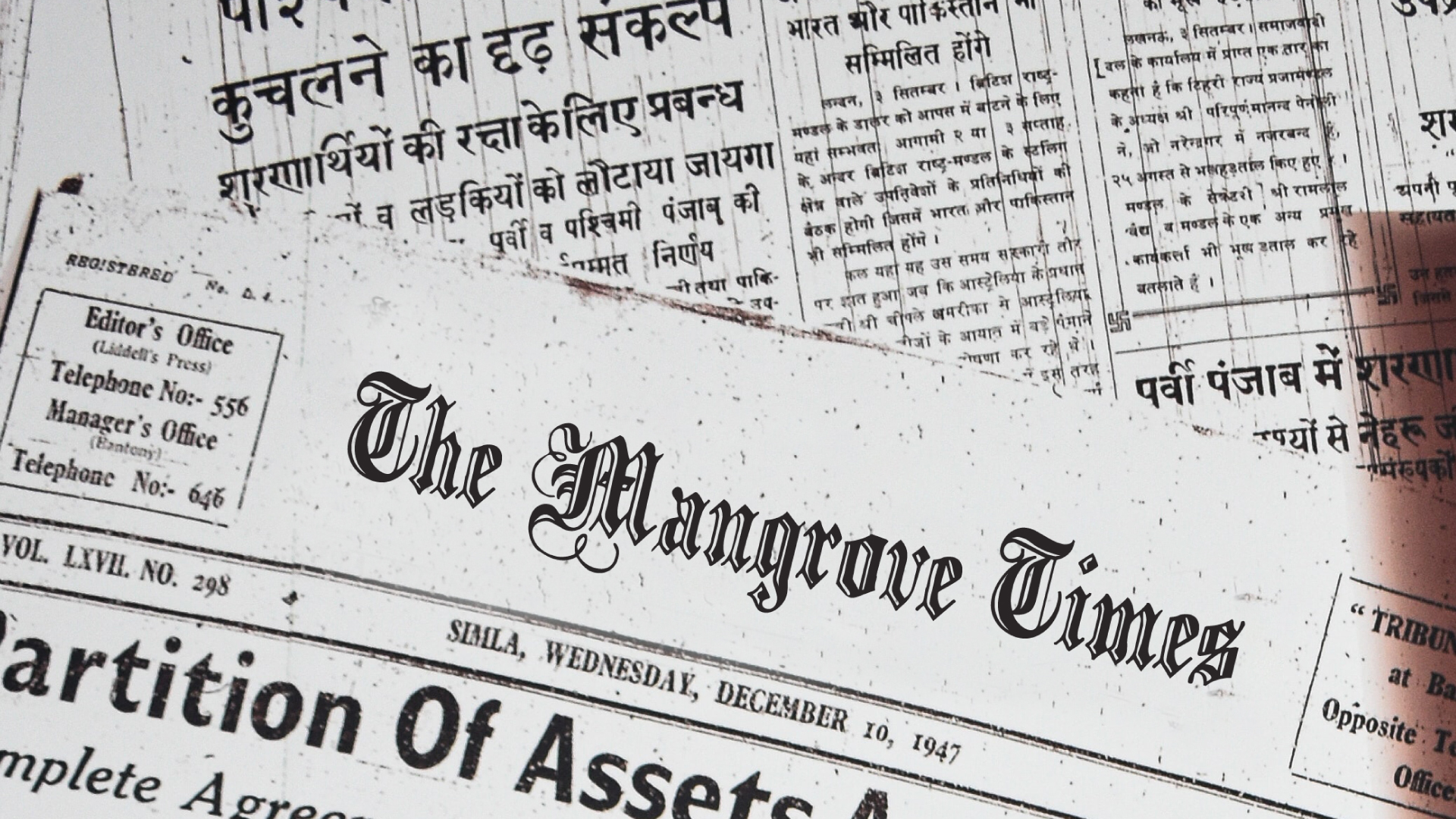 The Mangrove Times Blog
